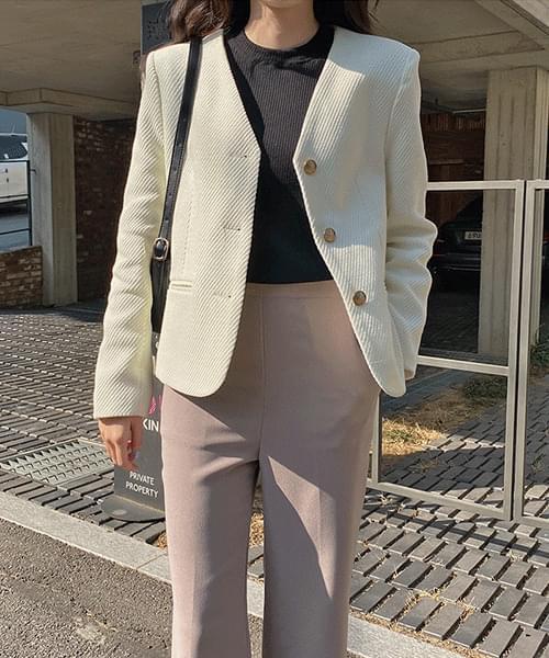 노카라 트윌 자켓