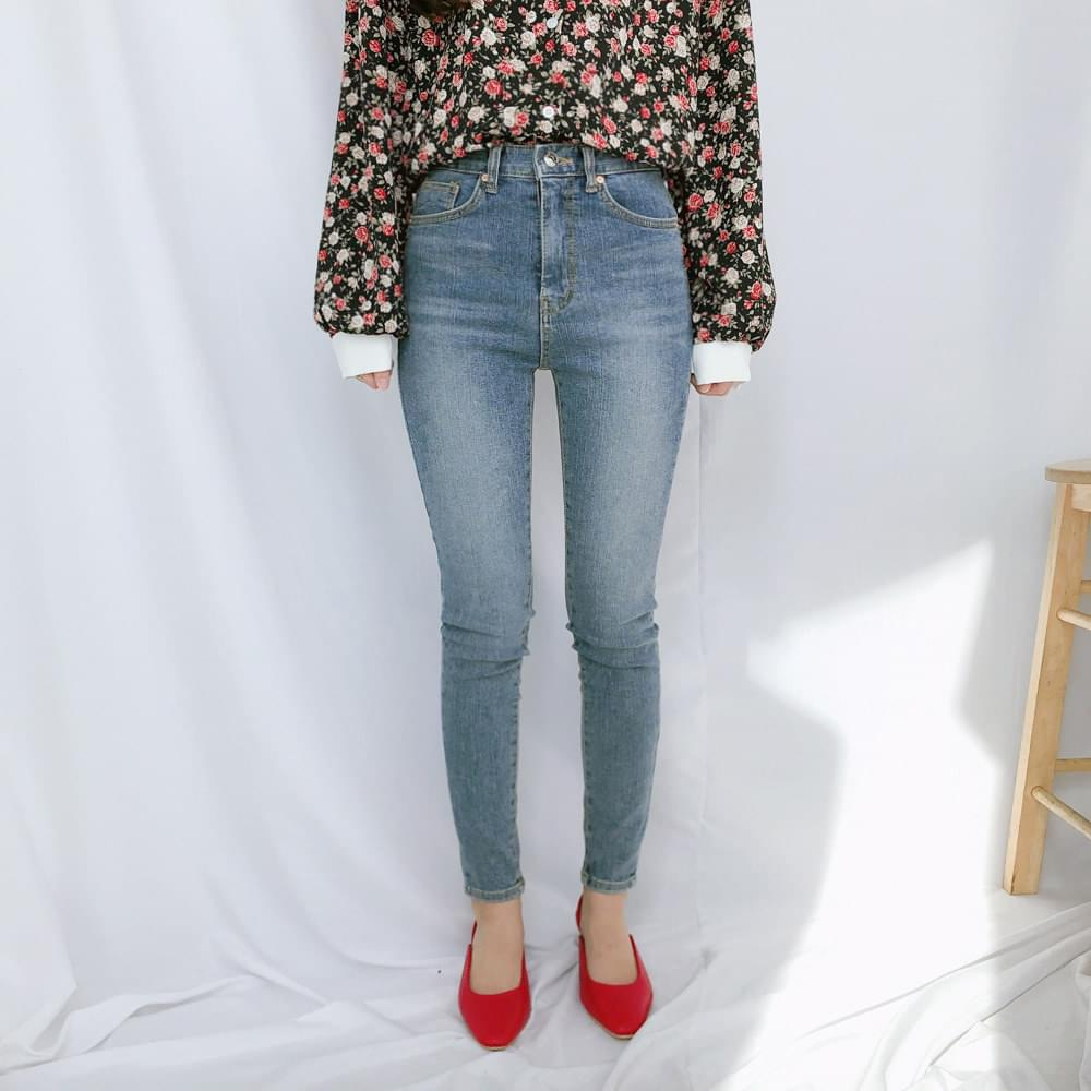 8037 basic skinny jeans 牛仔褲