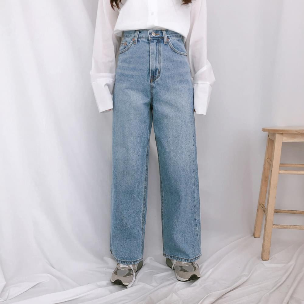 617 straight denim pants 牛仔褲