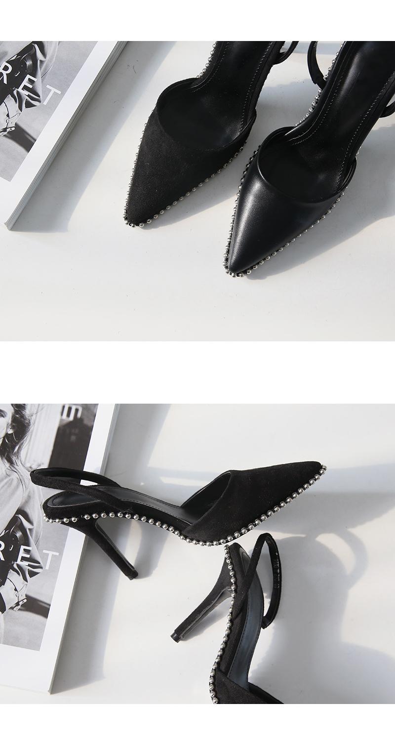 Silver Lining Slingback9.5cm