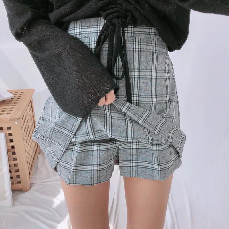 Adele Pippi Check Skirt スカート