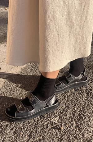 Basic plain socks socks