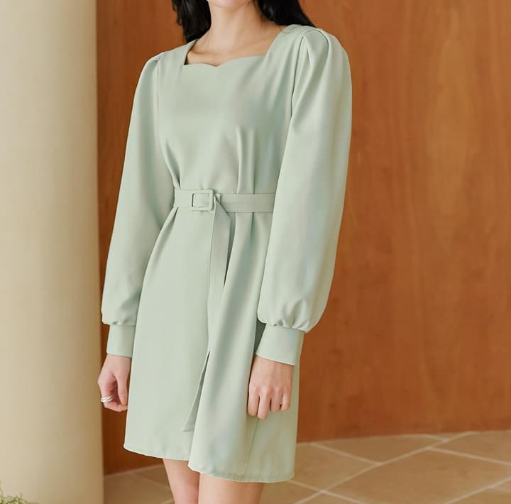 MUTY BALLOON BELT MINI OPS 洋裝