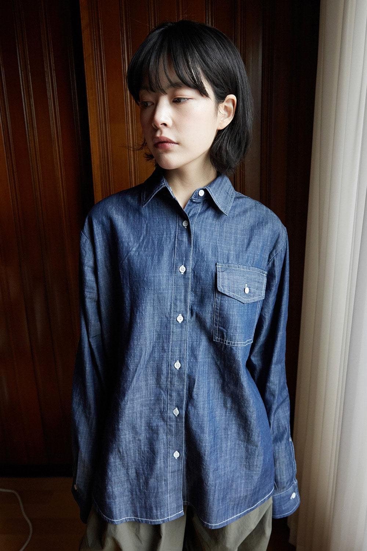basic denim shirts 牛仔褲