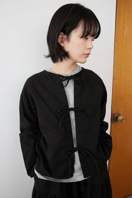 pure ribbon blouse 襯衫