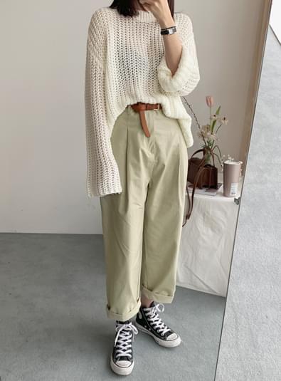 Modern pintuck pants パンツ