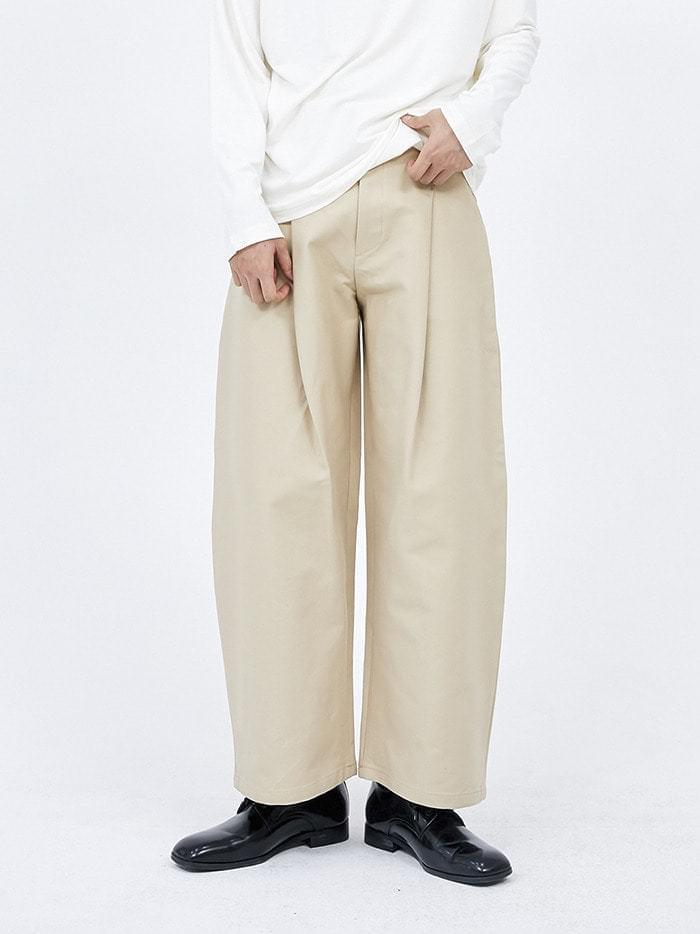 pintuck chino pants - men パンツ