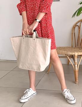 Simple cozy tote bag_J 托特包