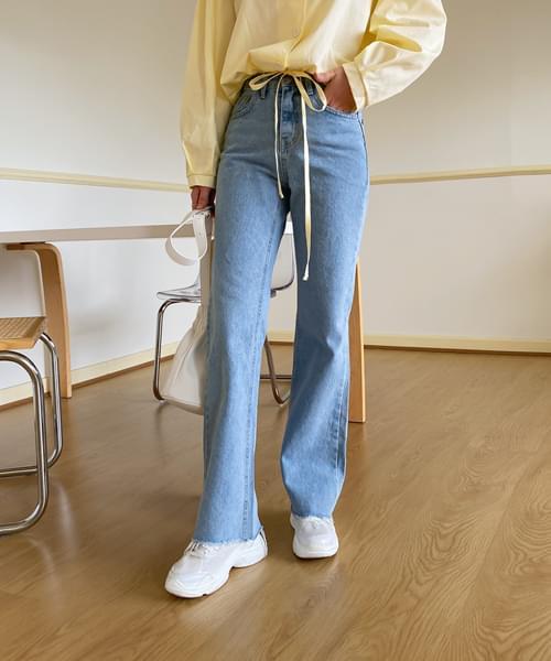 Magical Fit Slim Wide Denim Pants