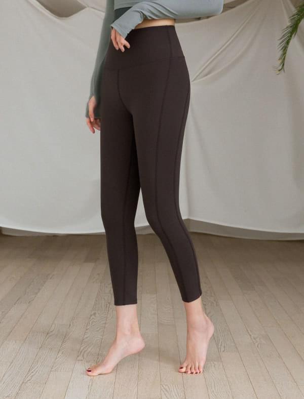 Sportswear Leggings F # 05-Dark Brown 內搭褲
