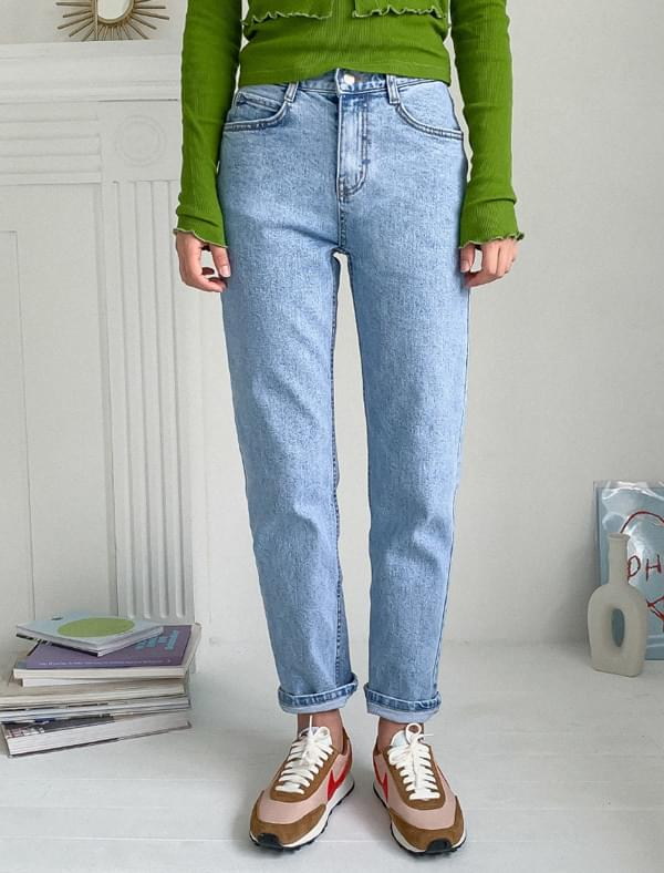 Daily straight denim pants 牛仔褲