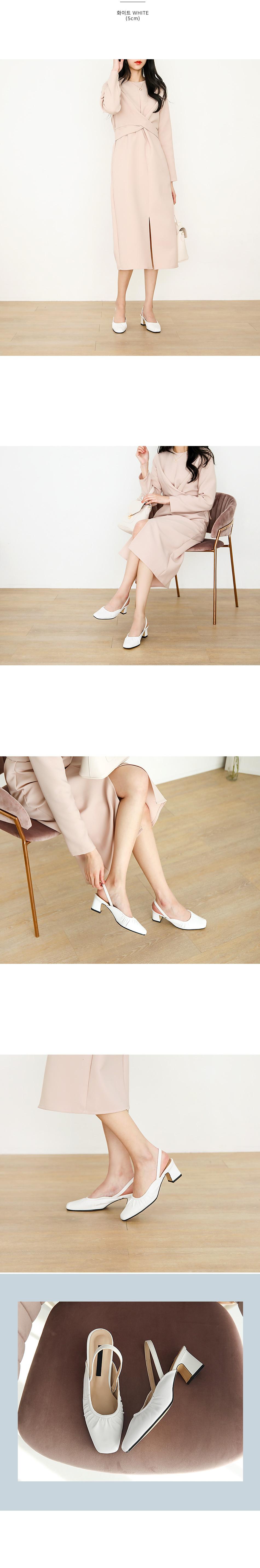 Fivelle Flat & Middle Heel 3,5cm