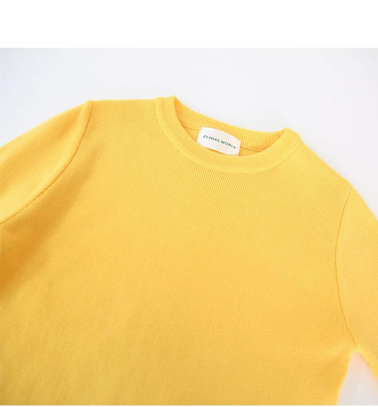 Citrus-Basic Knit