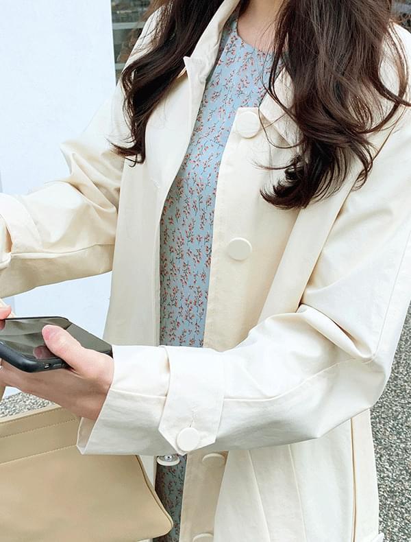 베베 트렌치 코트 (1color)