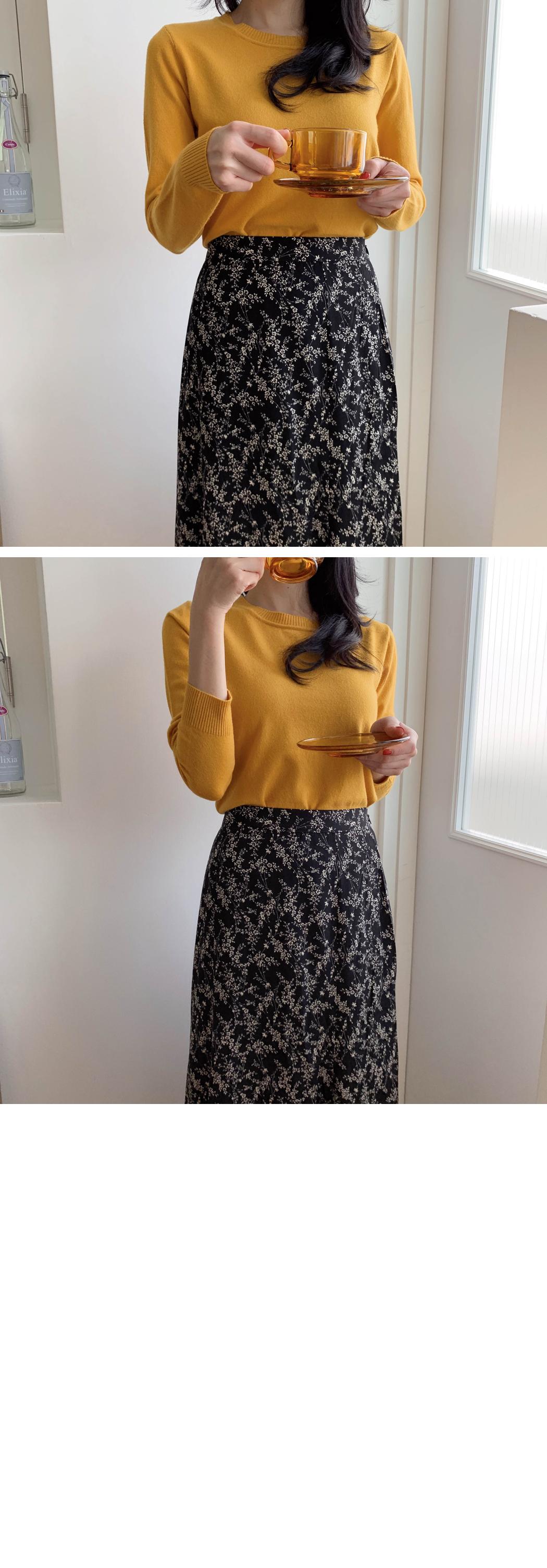 Dry Flower Mermaid Skirt