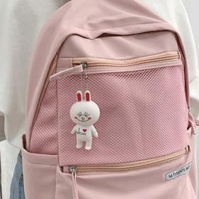 Mesh Cutie Backpack with Doll ♡ 後揹包