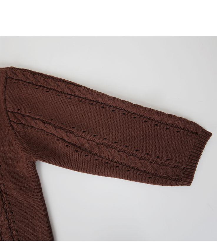 Small pretzel knit