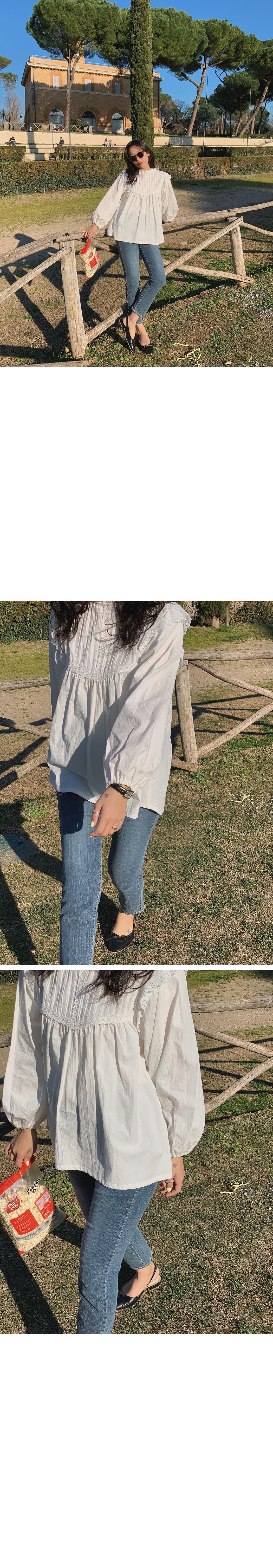 Marmalade ♥. Confi Frillfin tuck blouse