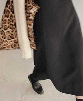 韓國空運 - Truy Sleeveless Dress 及膝洋裝