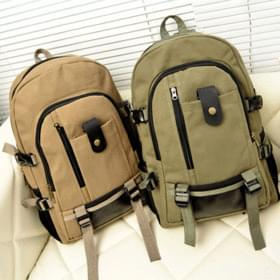 DO buckle strap backpack