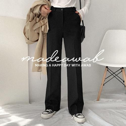 Micro Wide Long Slacks