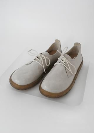 comfortable real leather shoes (3colors)