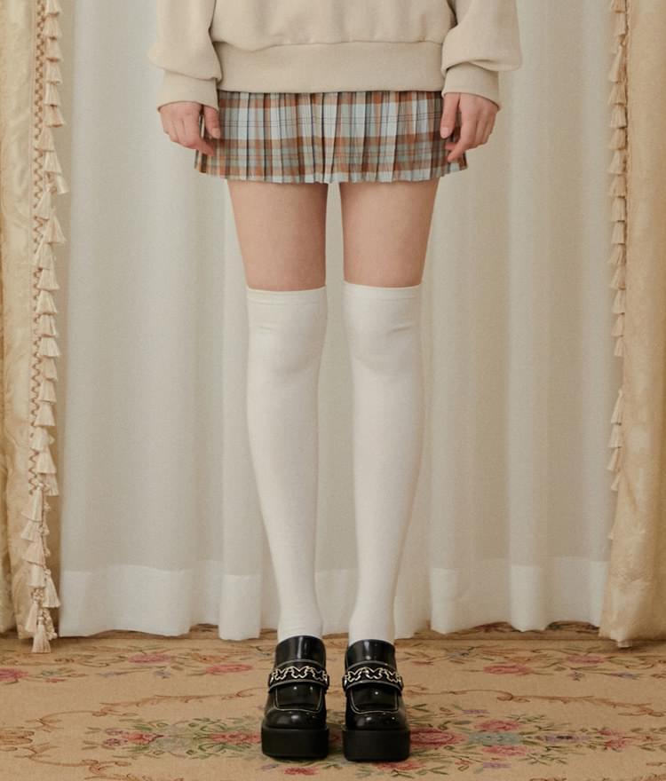 Heart Pleats Skirt