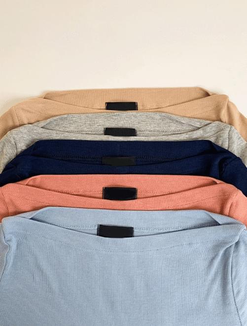 Moana Half Boat Neck T-Shirt J