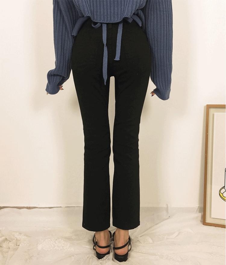 Part 8 slim cotton pants