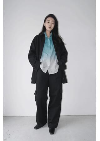 flow shirt jacket (3colors)