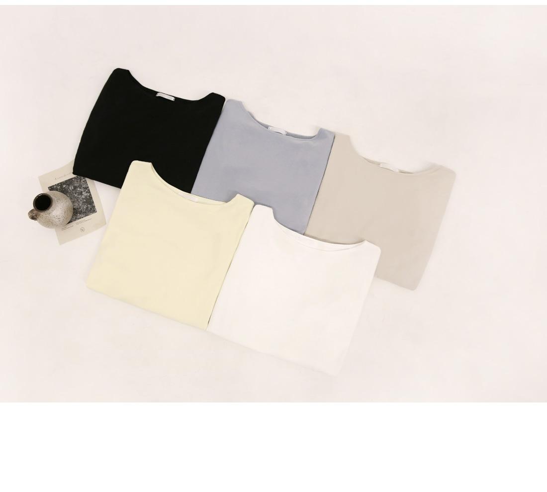 ELMO BASIC SOFT BOAT NECK T