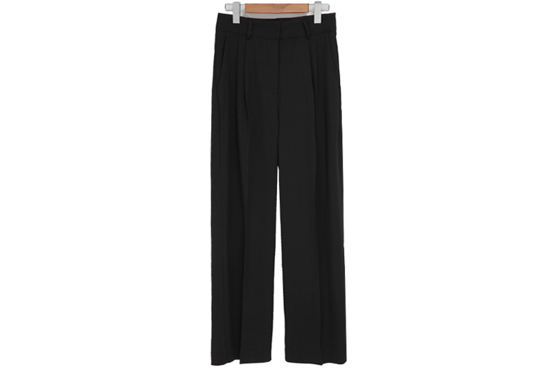 Jade pintuck wide slacks_J