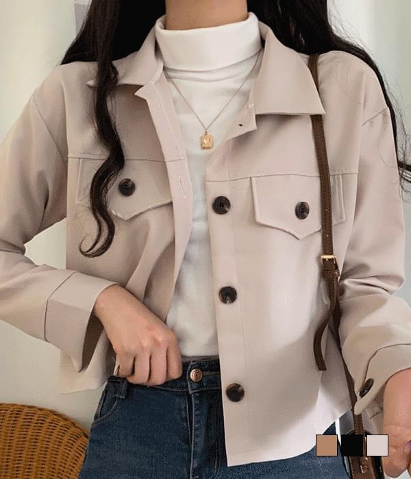 Basic Short Jacket