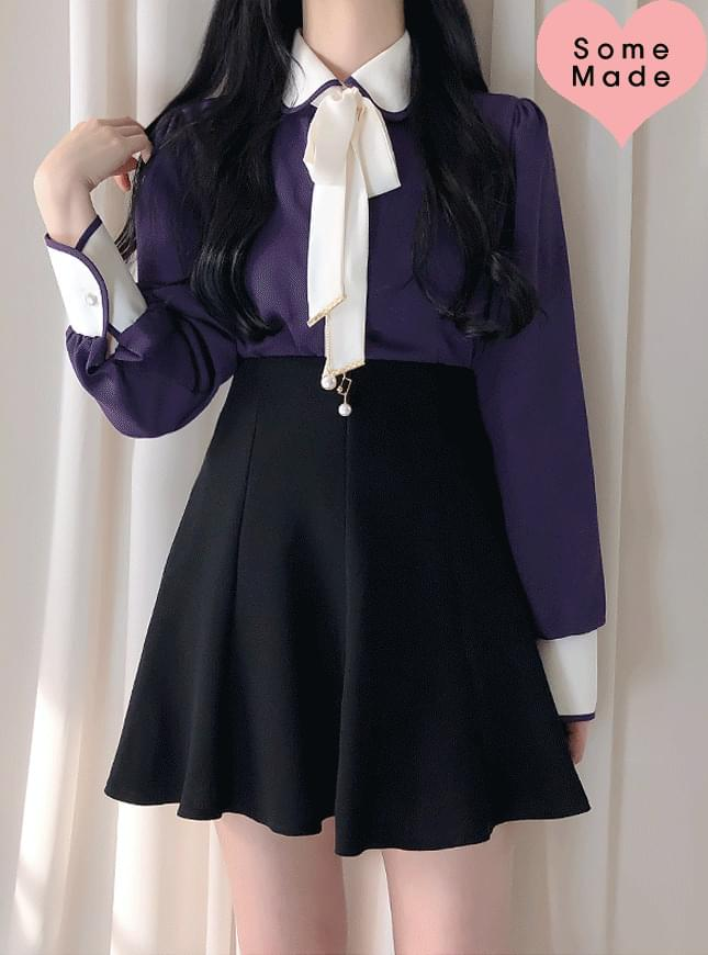 Self-made, same day delivery ♥ Days Cara Ribbon Blouse