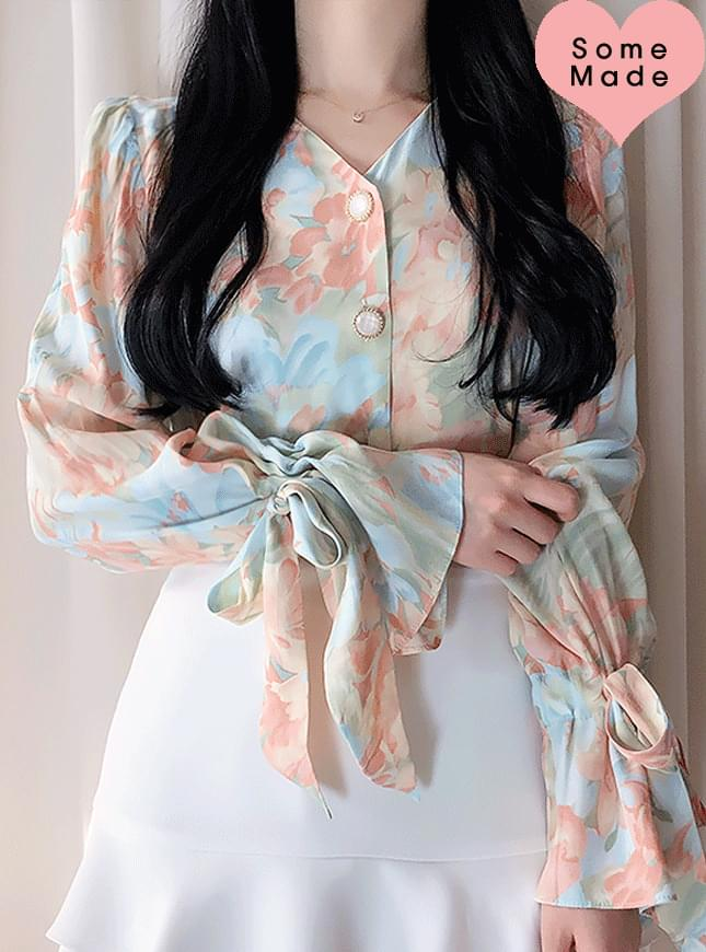 Self-made, same day delivery ♥ Marian Ribbon Blouse