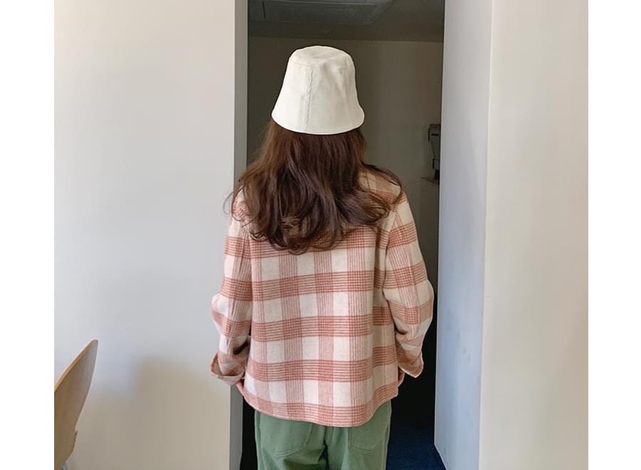Soft corduroy bucket hat_Y