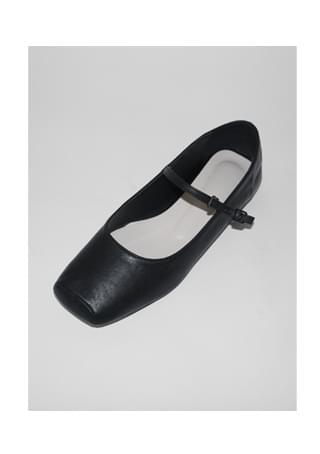 square maryjane flat shoes フラット