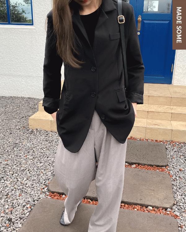 Minimum midi single jacket