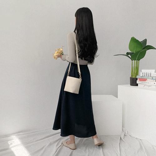 Rodel Flare Long Skirt