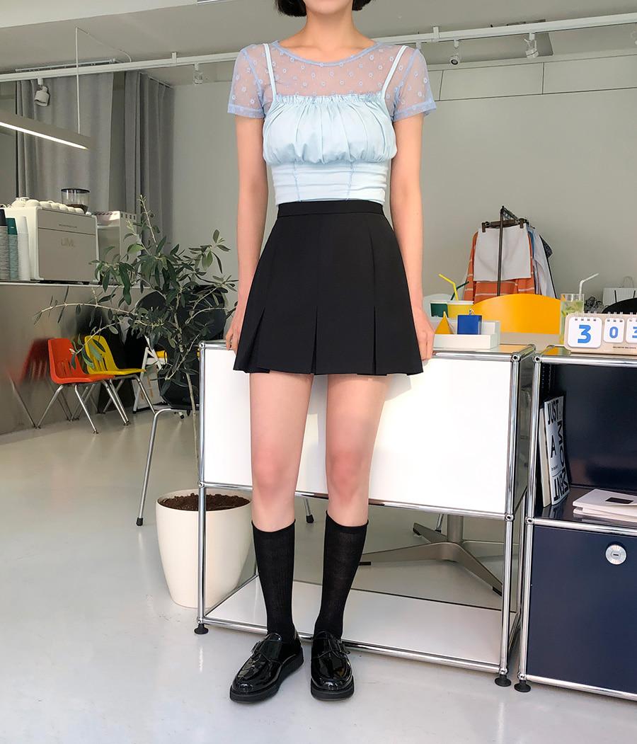 Polaro frill sleeveless