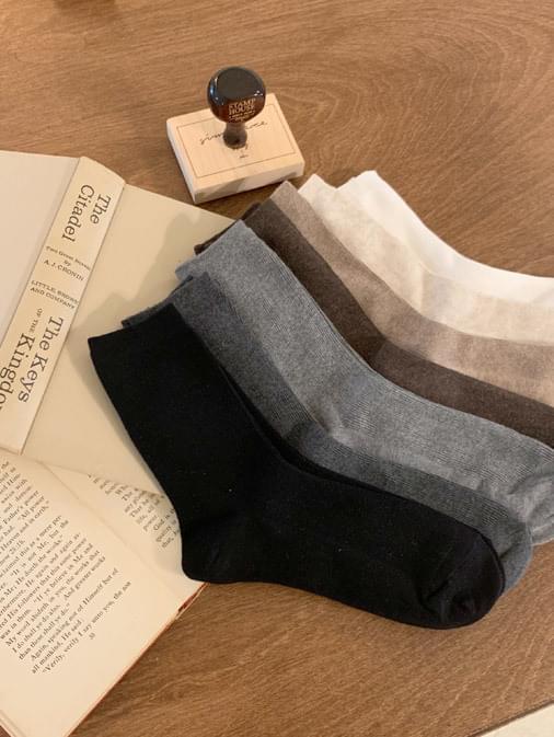 TONE & TONE Basic Corrugated Socks