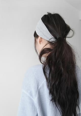 tension cotton hair band (3colors)