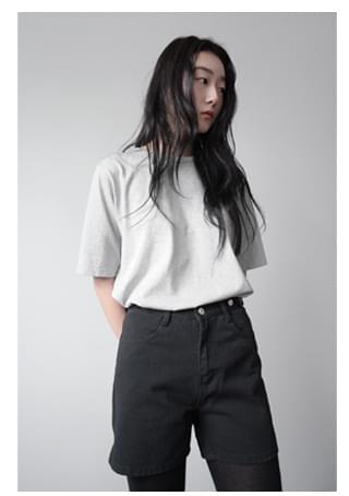 standard washing T-shirt 半袖