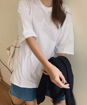 韓國空運 - Lavity slit box tea 短袖上衣