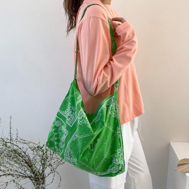 Vintage Paisley Eco Bag 帆布包