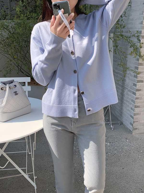 My-littleclassic / Printemps-button cardigan 開襟衫
