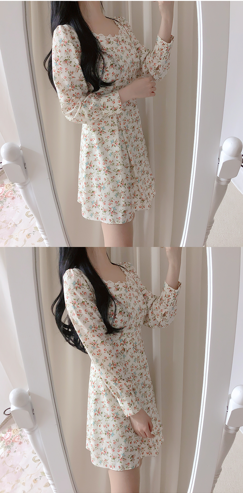 Self-made, same day delivery ♥ Baby Flower Dress