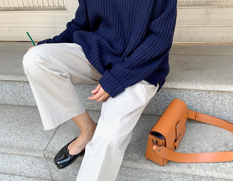 Able belt strap cross bag_C (size : one)