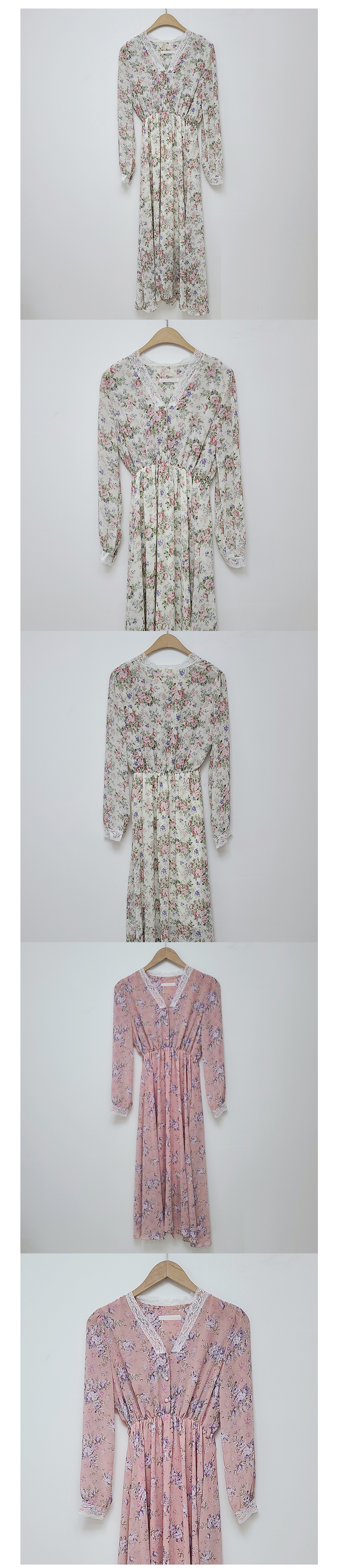 Biele Flower Long Dress