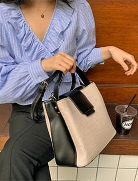 Oxford leather color bag 肩背包